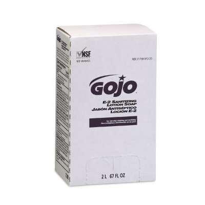 E2 Sanitizing Lotion Soap, Fragrance-Free, 2000 ml Refill