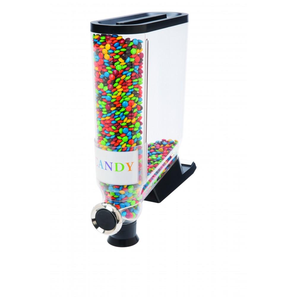Rosseto DS101 Dry Product Dispenser Shelf Mount, 3.5 Gallon