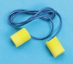 Earplugs With Cord Yello 200 Pair/Box