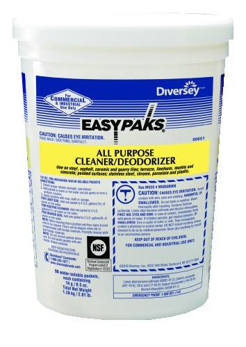 Easy Paks� All Purpose Cleaner, 90 Packets per Tub