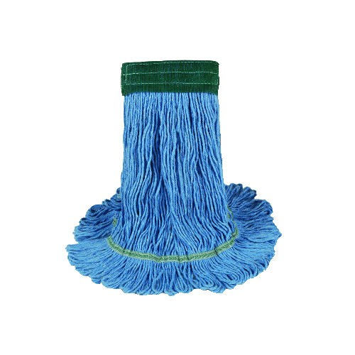Echo Looped End Wet Mop Head, Large, Blue
