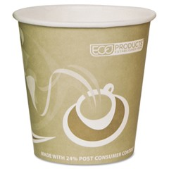 Eco-Products,Inc. Evolution World 24% PCF Hot Drink Cups, 10 oz, Tan (Box of 1000)