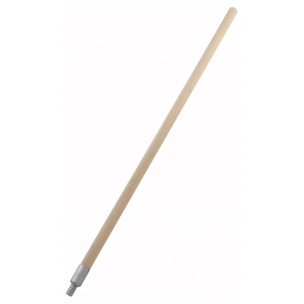 "Winco BR-36W Economy 36""Wood Handle for Pizza Brush BR-10"