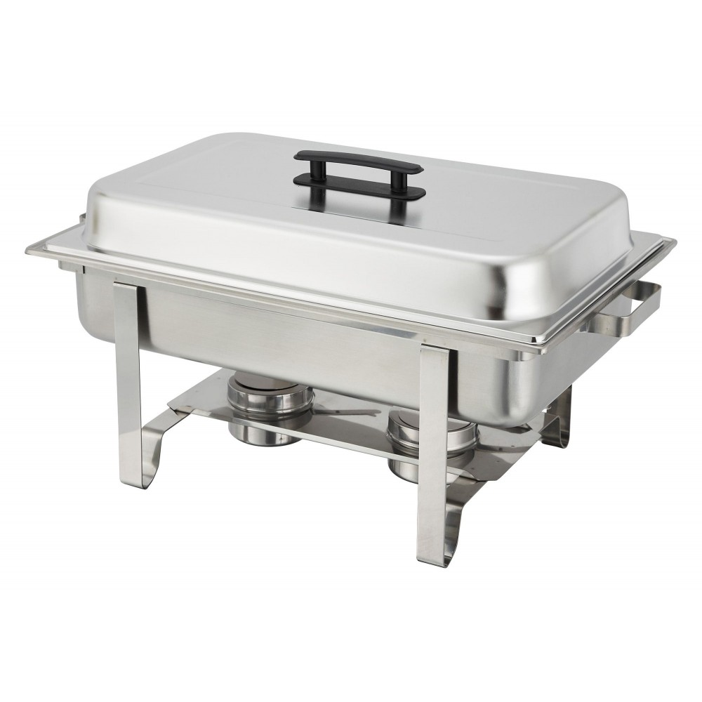 Economy 8-Qt Stainless Steel Chafer