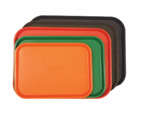 """Thunder Group PLFFT1014 Rectangular Plastic Fast Food Tray 10-1/2"""" x 13-1/2"""""""