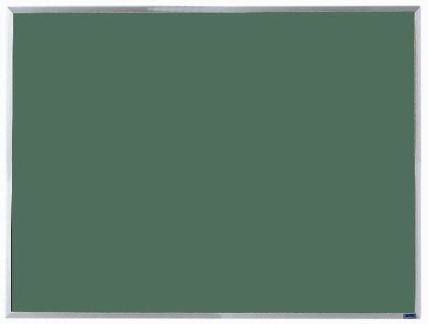 Economy Series Aluminum Frame Chalkboard (Choice of colors) - 36