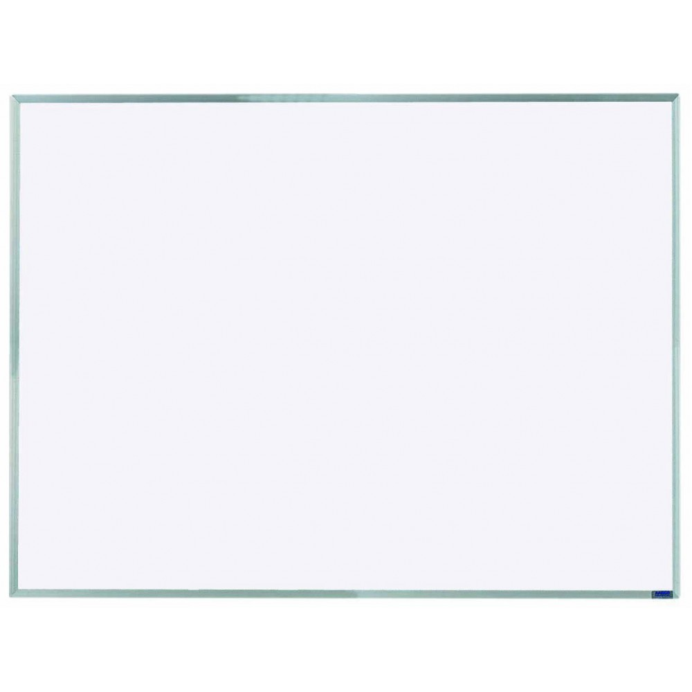"Aarco Products AW3648 Economy Series Aluminum Frame Markerboard, 36""H x 48""W"