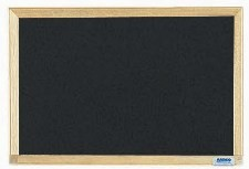 """Aarco Products EC1218 Economy Series Wood Frame Chalkboard (Choice of Colors), 12""""H x 18""""W"""