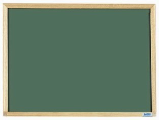 "Aarco Products EC1824 Economy Series Wood Frame Chalkboard (Choice of Colors), 18""H x 24""W"