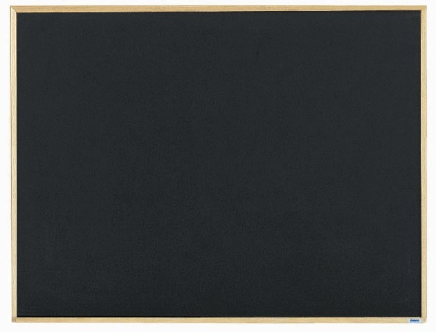 """Aarco Products EC3648 Economy Series Wood Frame Chalkboard (Choice of Colors), 36""""H x 48""""W"""