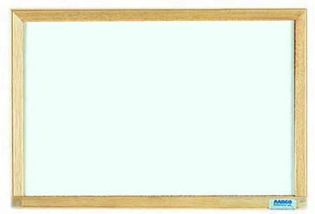 "Aarco Products EW1218 Economy Series Wood Frame Markerboard, 12""H x 18""W"