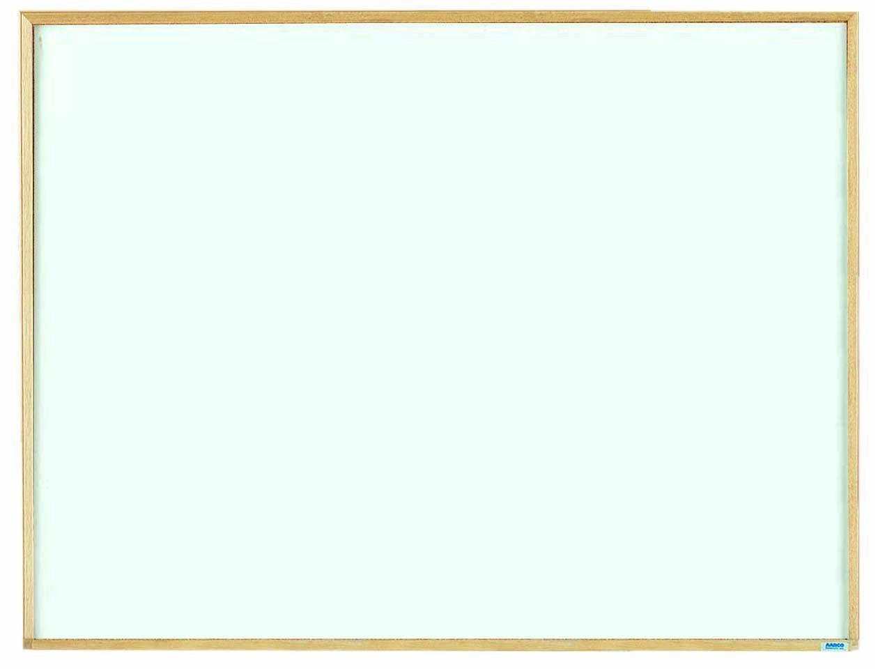 """Aarco Products EW3648 Economy Series Wood Frame Markerboard, 36""""H x 48""""W"""