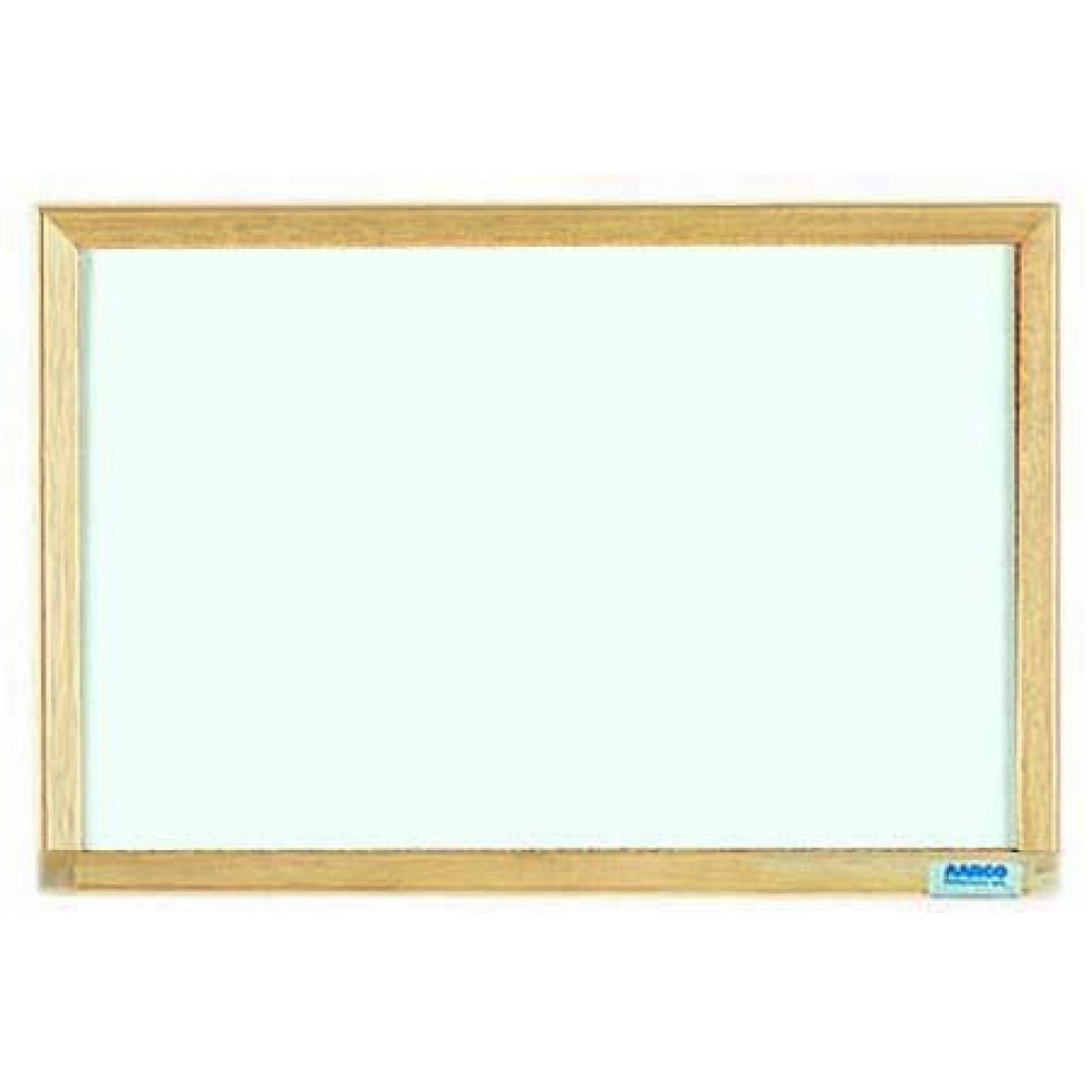 Economy Series Wood Frame Markerboard - 12