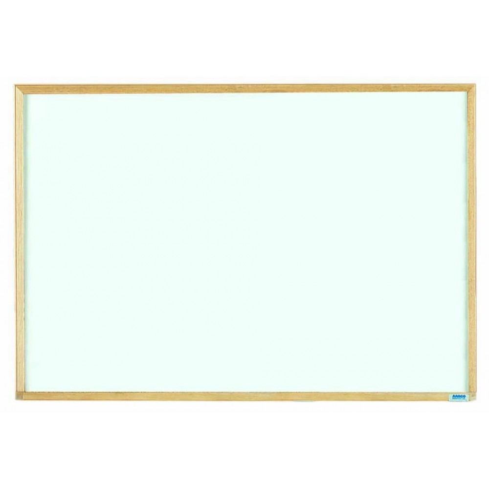 "Aarco Products EW2436 Economy Series Wood Frame Markerboard, 24""H x 36""W"