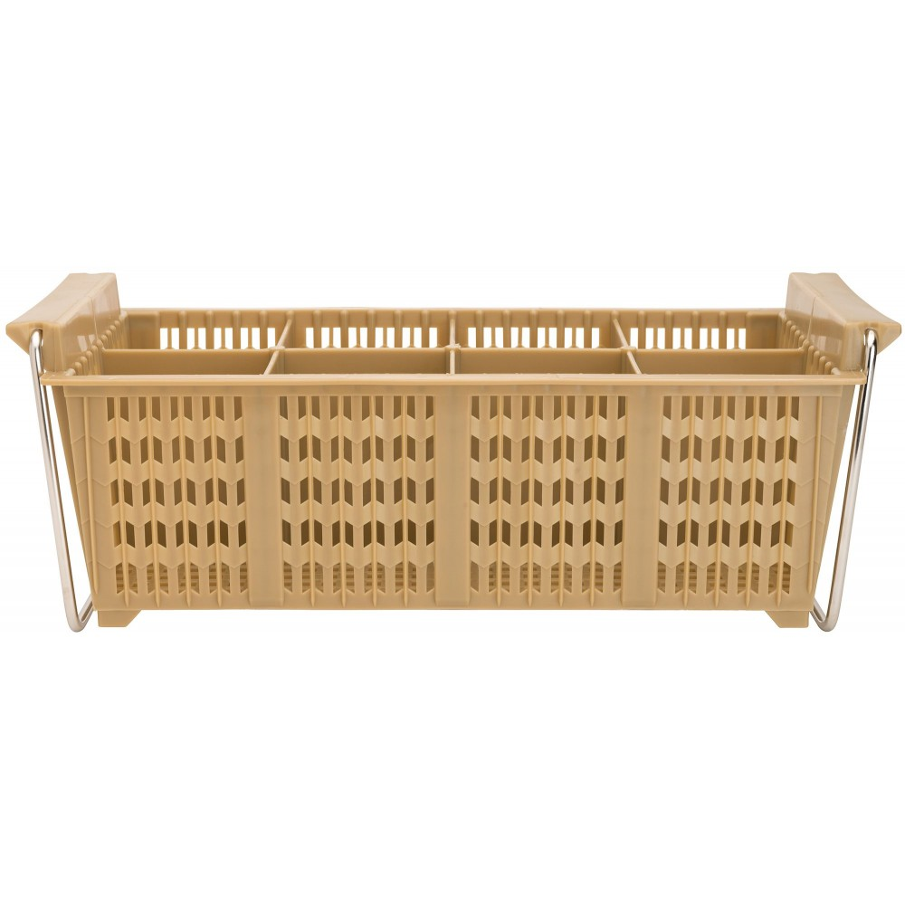 Eight-Compartment Cutlery Basket - 17 X 8 X 6