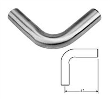 Franklin Machine Products  135-1190 Elbow (90 Deg., Stainless Steel, 1 Od )