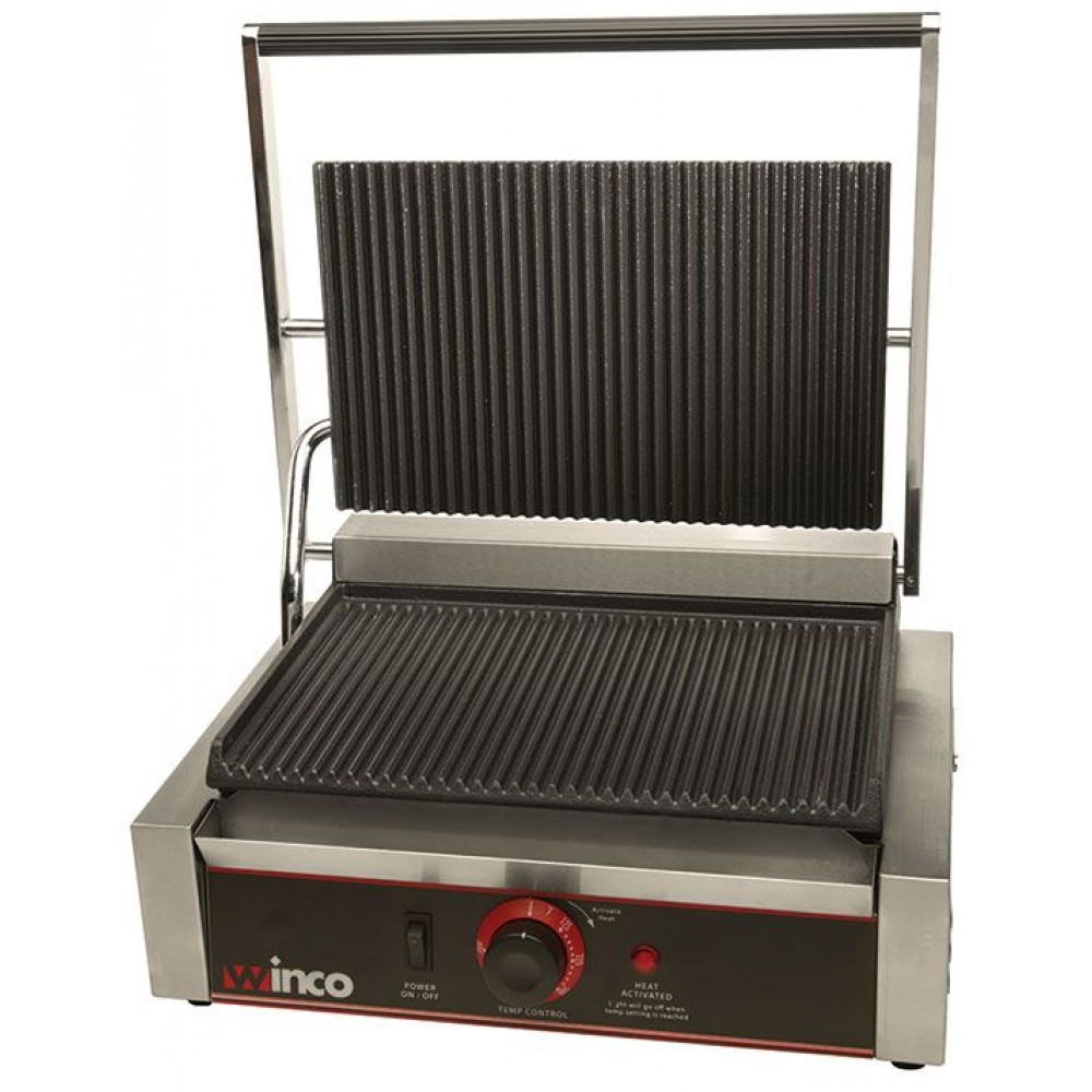 Electric Panini Forte Italian Style Grill w/ Single 14