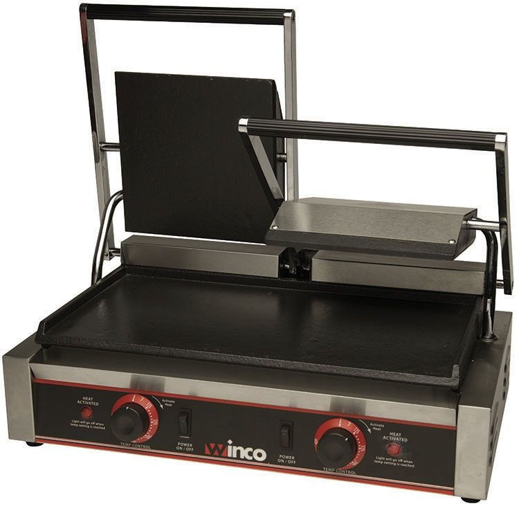 Electric Sandwich Grill w/ Dual 9
