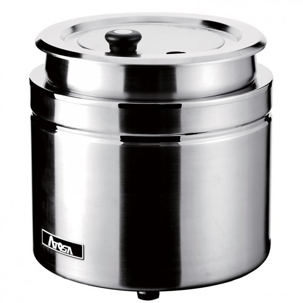 Electric Soup Warmer ~ Atosa at stainless steel soup kettle warmer qt