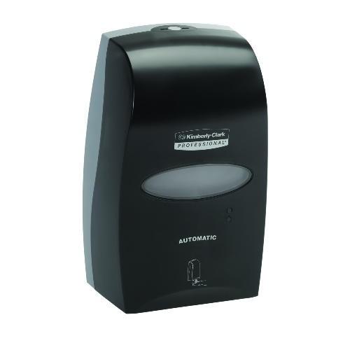 Electronic Cassette Skin Care Dispenser, 1200 mL, 7-1/4 x 4 x 11-12/25, Black