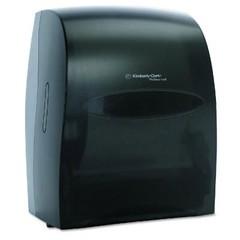 Electronic Touchless Towel Dispenser, 12 3/5 x 16 1/10 x 10 1/5, Smoke/Gray