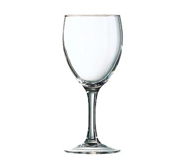Elegance 10-1/2 Oz. Glass Goblet - 7-1/8