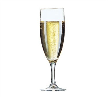 Elegance 4-1/2 Oz. Glass Champagne Flute - 7