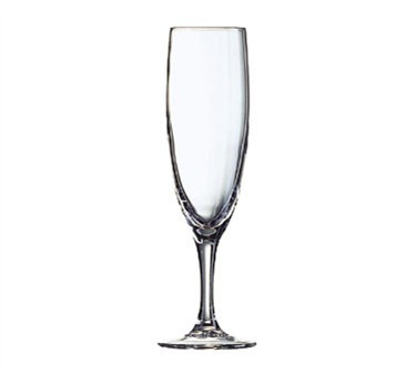 Cardinal 37298 Arcoroc Elegance 5-3/4 oz. Glass Champagne Flute