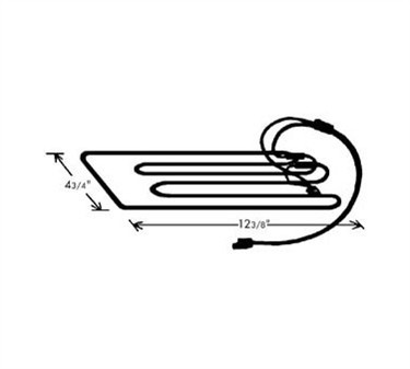 Franklin Machine Products  232-1046 Element, Condensate Pan (230V)