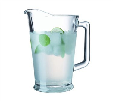 Elemental 60 Oz. Glass Pitcher With Pour Lip - 9