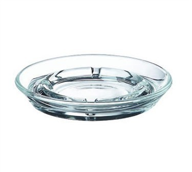 Elemental Shallow Glass Ash Tray - 5