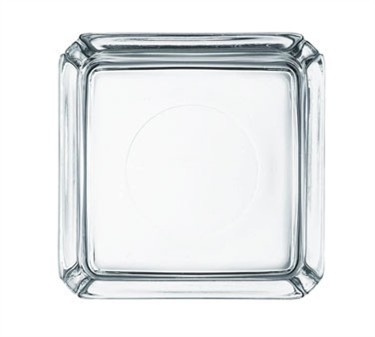 Elemental Square Glass Ash Tray - 4