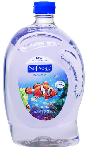 Elements Liquid Hand Soap, Aquarium Series, Fresh Floral, 56 oz