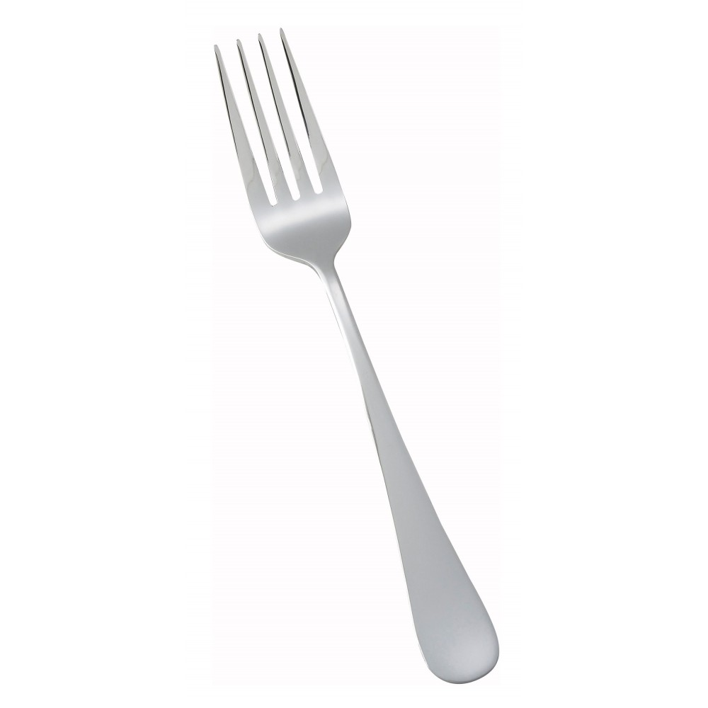 Winco 0026-05 Elite Heavy Weight Mirror Finish Stainless Steel Dinner Fork (12/Pack)