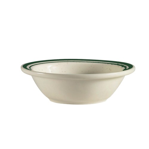 CAC China CES-11 Emerald 5 oz. Fruit Bowl
