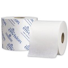Envision High-Capacity Standard Bath Tissue, 1-Ply, White, 1500/Roll