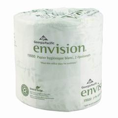 Envision Toilet Tissue Embossed 2-Ply, White
