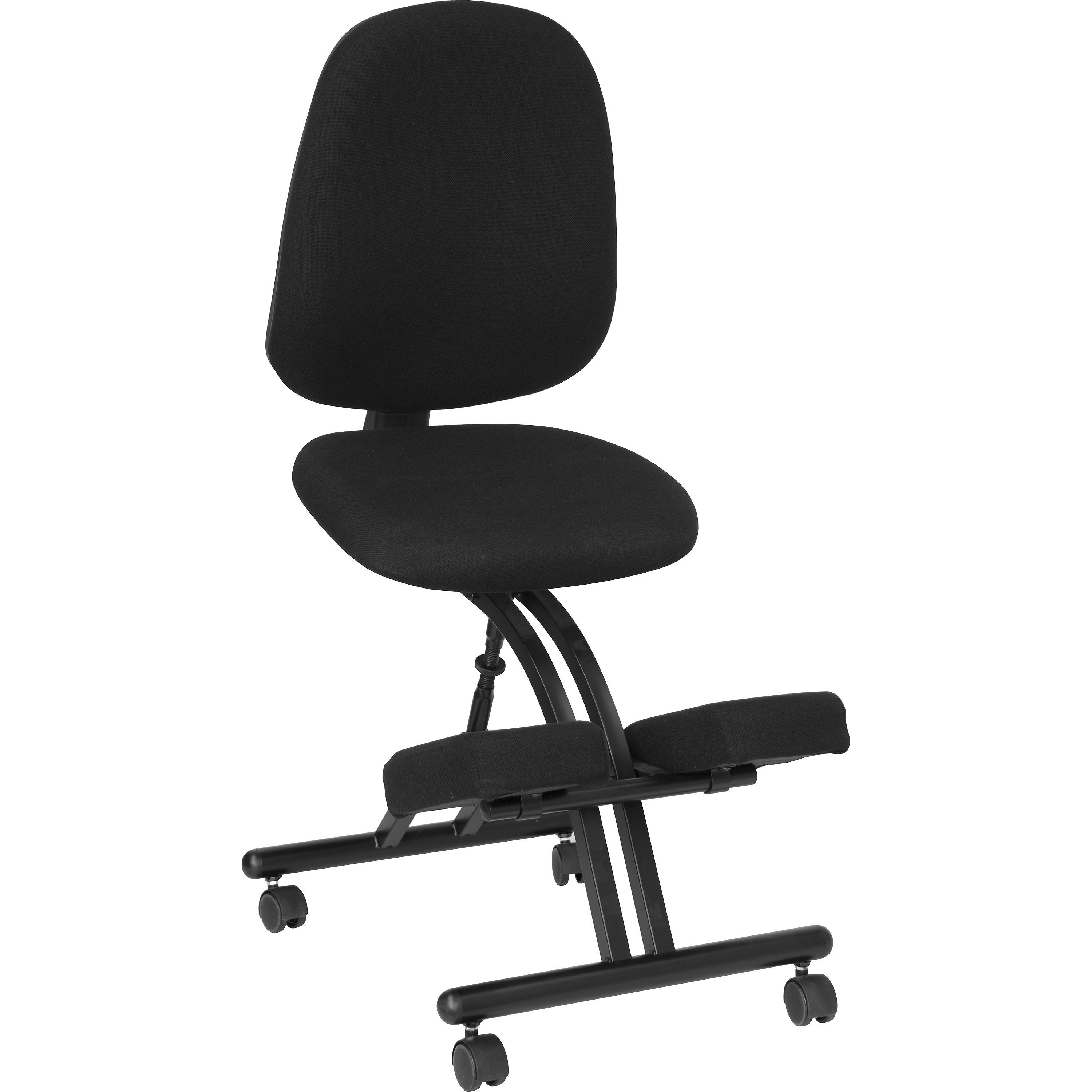 Flash Furniture WL-1428-GG Ergonomic Kneeling Posture Office Chair with Back