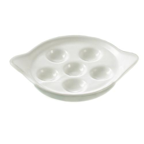"CAC China ESD-9 Escargot Dish, 8 1/2"""