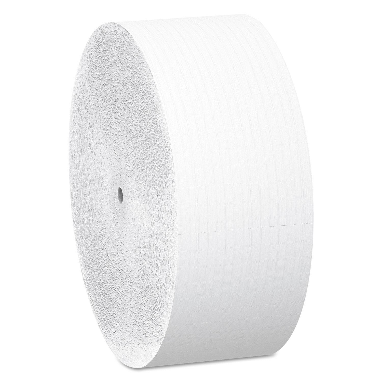 Essential Coreless JRT, 2-Ply Bathroom Tissue, 1150 ft, 12 Rolls/Carton
