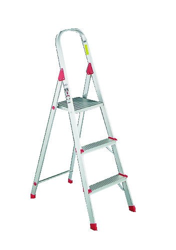 Euro Platform Aluminum Ladder