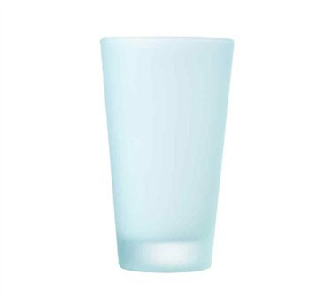 Everfrost Frosted 14 Oz. Heavy Sham Pub Glass - 5-13/16