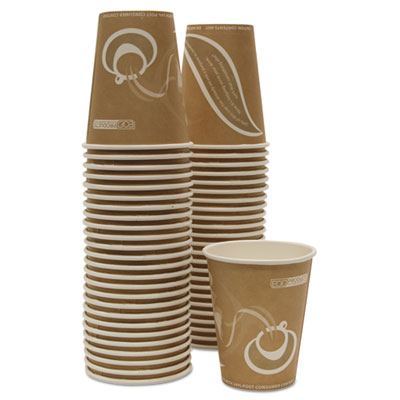 Evolution World 24% Recycled Content Hot Cups Convenience Pack - 8oz., 50/PK