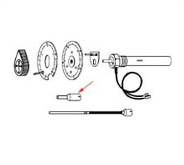Franklin Machine Products  168-1034 Extension, Thermostat Shaft