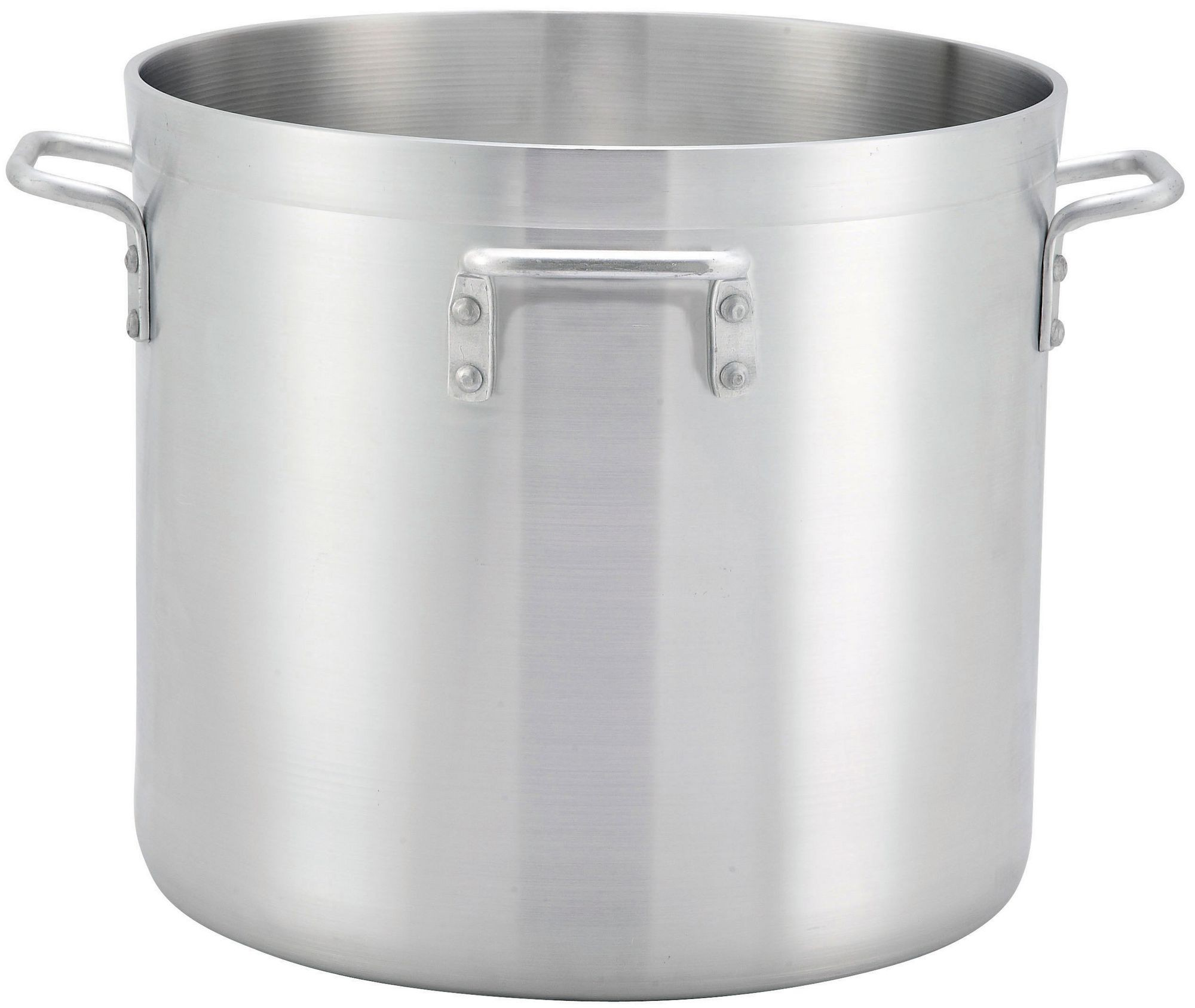 Winco ALHP-120H Precision Aluminum 120 Qt. Stock Pot with 4 Handles