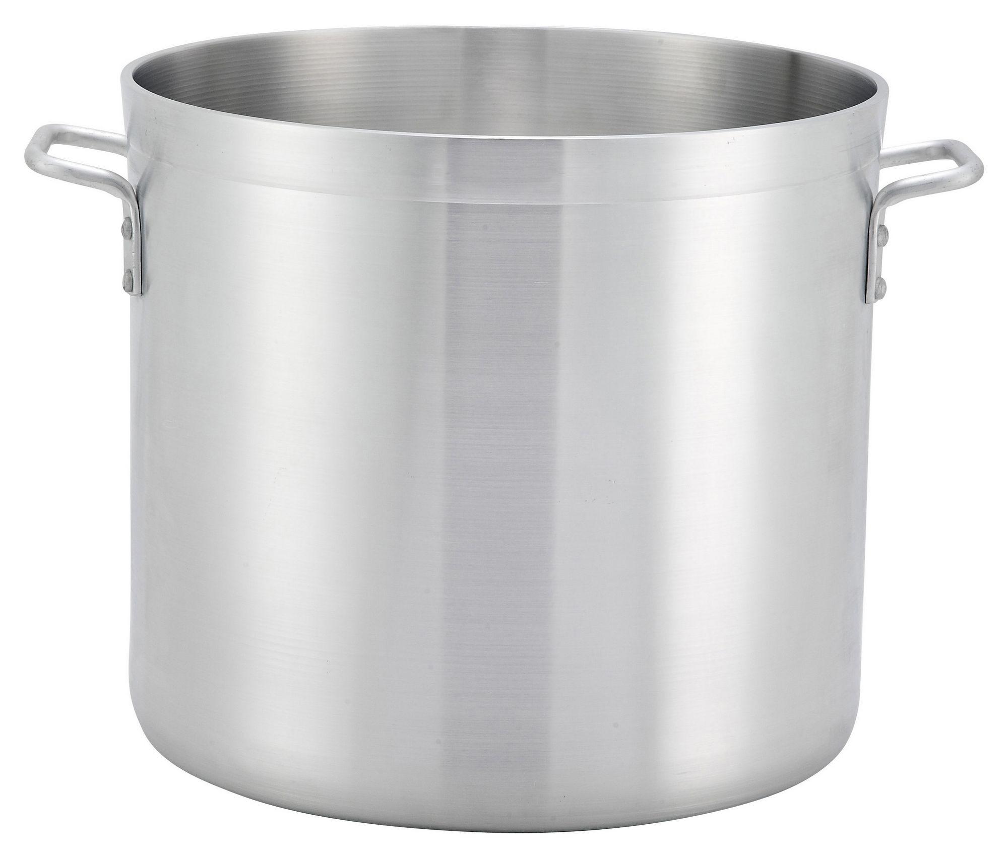 Winco ALHP-140 Precision Aluminum 140 Qt. Stock Pot