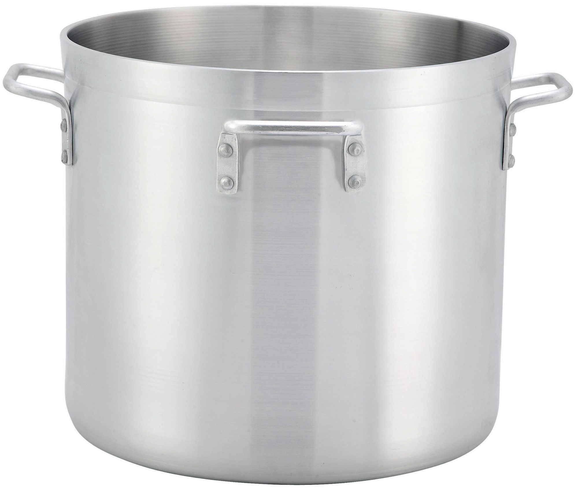 Winco ALHP-140H Precision Aluminum 140 Qt. Stock Pot with 4 Handles
