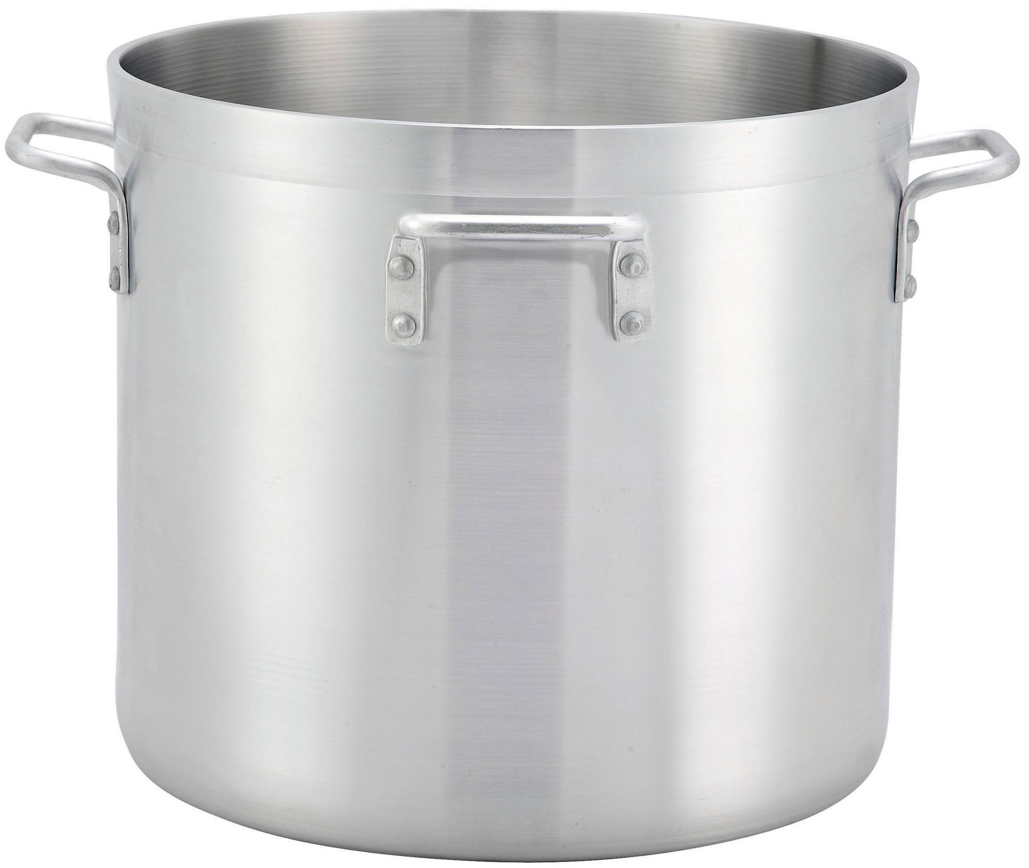 Extra Heavy Aluminum 160Qt Stock Pot With 4 Handles