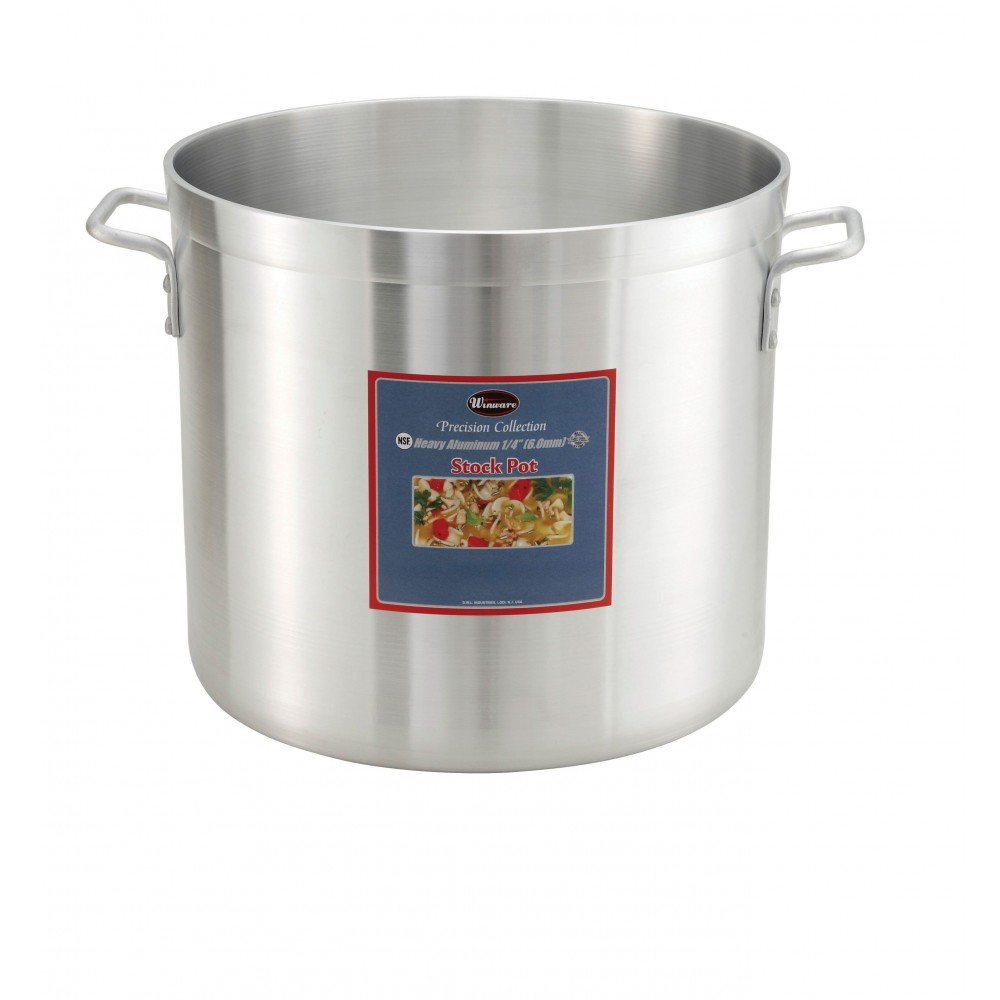 Extra Heavy Aluminum 32-Qt Stock Pot