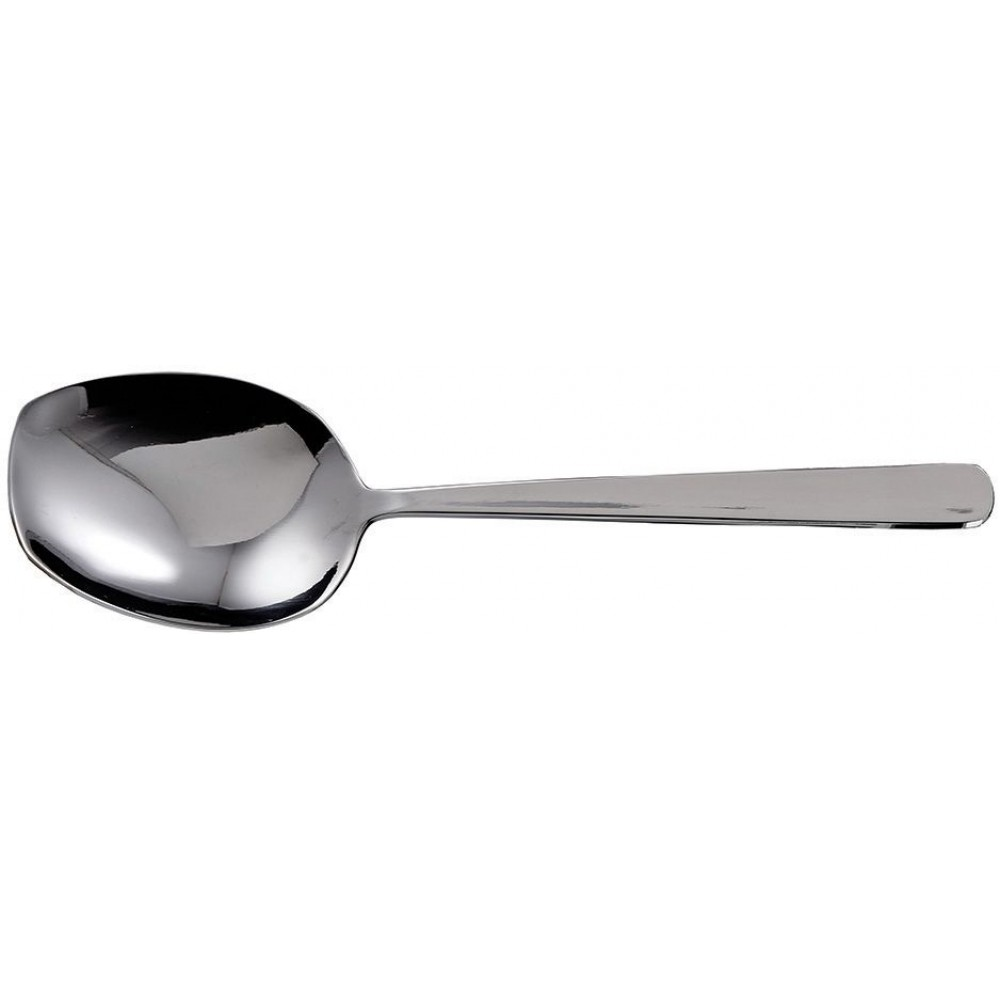 Extra Heavy Solid Stainless Steel Serving Spoon - 8